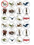 24 x How to Train Your Dragon Edible Wafer Paper Cup Cake Top Toppers